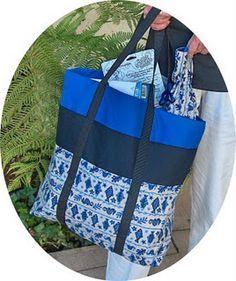 Tutorial for 12 Pocket Bag