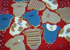 Western Baby Shower Onesie Cookies