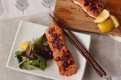 Maple Adobo Salmon