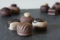 chocolates ouf of polymer clay. www.deschdanja.ch