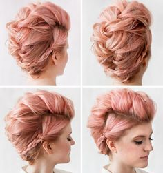Braided mohawk how to