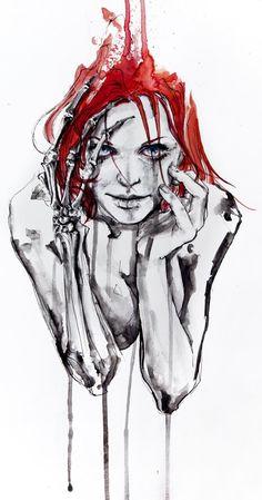 Agnes Cecile. #madness