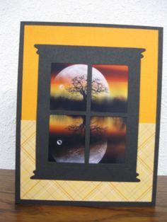Window Die card