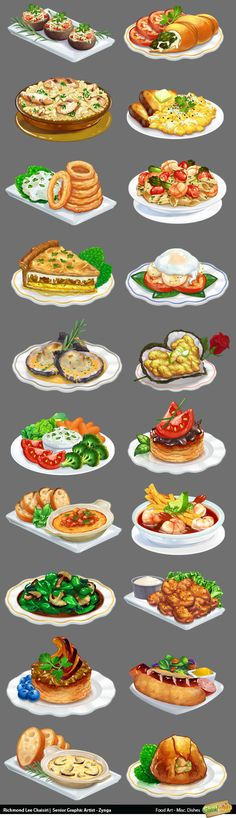 #еда food_art_misc_dishes http://art-eater.com/portfolio/ ★ || CHARACTER DESIGN…