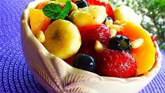 """Honey Lime Fruit Salad I """"So simple, yet so delicious! Easy to put together and tastes great. Not only is it a nice combination of colors and flavors but it's good for you too. Great for breakfast or a light snack."""""""