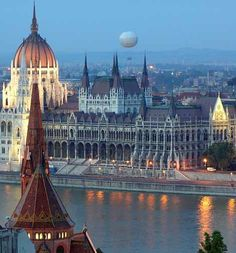 Budapest, Hungary the homeland of my Grandmother's parents (Anna & Dominic)