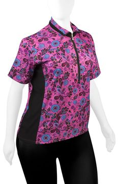3fd167de1 Women s Xtract Cycling Jersey by Endura. Plus Lady Pink Paisley Cycling Top  -  64.95