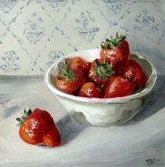 """Painting won"" - Original Fine Art for Sale - © Penny German"