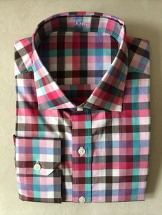 Spring at J. Hilburn - Pink, Blue, Brown Multi Gingham