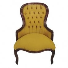 Cadeira Decorativa Vitoriana