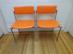mid century Stendig chairs from Finland
