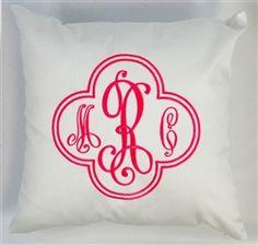 White Cotton Throw Pillow