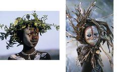 ナチュラル・ファッション 自然を纏うアフリカ民族写真集 | ハンス・シルヴェスター, 武者小路 実昭 |本 | 通販 | Amazon