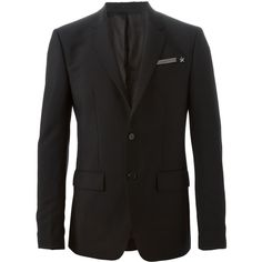 Givenchy Wool-Mohair Blend Blazer (2.290 BRL) ❤ liked on Polyvore featuring men's fashion, men's clothing, men's sportcoats, francis hammerstein, men, black, mens apparel, mens clothing, mens wool blazer and givenchy mens clothing