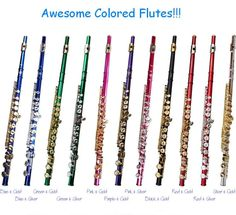 If only Saxophones came in cool colors...now that would be awesome!