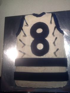 Geelong cats 8th birthday cake