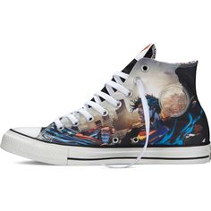 Converse Chuck Taylor DC Comics Superman – black Sneakers ($60) ❤ liked on Polyvore