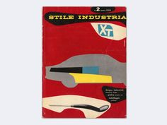 "Published as an offshoot of Gio Ponti's legendary Italian Architecture, Furnishing and Art magazine Domus, Stile Industria was Italy's first and only magazine exclusively dedicated to Industrial Design (disegno industriale), Graphic Art (grafica) and Packaging Design (imballagio). Launched in June 1954, when the controversial idea of ""Industrial Design"" was very new and unconvincing to Italian readers, this quarterly magazine published a total of 41 issues (including one double issue) until…"