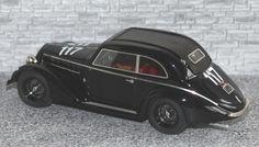 Alfa Romeo 6c 2300 B Pescara Berlinetta Touring - Mille Miglia 1937 #117 - Alfa Model 43