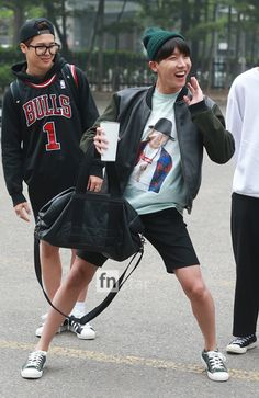 [Picture/Media] BTS Going to KBS Music Bank [150515]   btsdiary