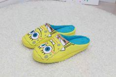 Spongebob Squarepants Plush Slippers