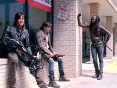 The Walking Dead Season 4.  Looks like there's a new boy near Beth's age.