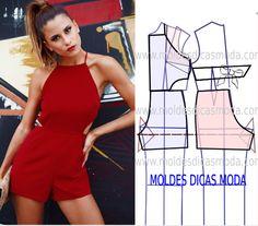 Sensational Tips Sewing Pattern Ideas. Brilliantly Tips Sewing Pattern Ideas. Diy Clothing, Sewing Clothes, Clothing Patterns, Dress Patterns, Easy Sewing Patterns, Sewing Tutorials, Fashion Sewing, Diy Fashion, Style Fashion