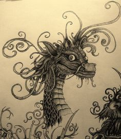 Baby chinese dragon by ~Red-NakedPagan on deviantART