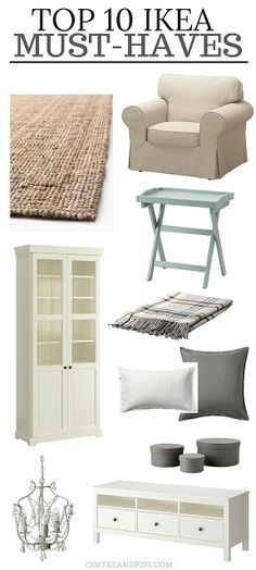 Shopping at ikea can be over whelming! Here are a few ikea must haves, really af. - Ikea DIY - The best IKEA hacks all in one place Ikea Must Haves, Cottage Shabby Chic, Ikea Shopping, Furniture Shopping, Furniture Stores, Online Shopping, Ikea Furniture, Porch Furniture, Furniture Removal