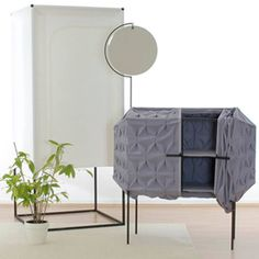 London, the textile furniture series created by German designer Meike Harde.