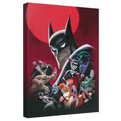 Batman Animated Series Wall Canvas