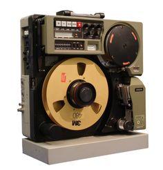 80s professional portable Video Tape Recorder: HITACHI