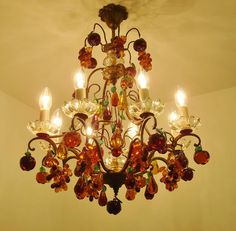 Antique Furniture Antiques Set Of 63 Small Pampilles For Chandeliers Appliques And Various