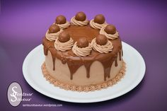 Layer Cake au chocolat – Senteur et Saveur Chocolat Cake, Cookies Et Biscuits, Wedding Cakes, Deserts, Layers, Food And Drink, Birthday Cake, Nutrition, Chocolate