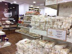 "Nougats de chez ""Sabor a Espana"" à Malaga, Espagne"