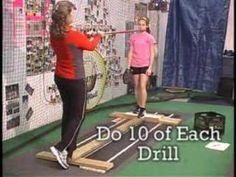 Fastpitch Softball Pitching Fundamentals 4 - Balance Board Progression