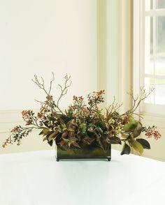 Berry and Magnolia Planter | Balsam Hill