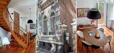 Sobrado de 1913 reformado: janelões e linda escada foram preservados
