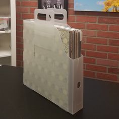 Easy to carry with the pull up handles. The Paper Handler is perfect if you travel for events