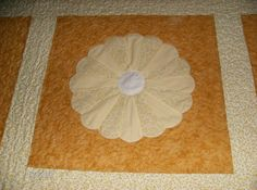 Dresden Plate Pattern Queen Size Quilt by madeinUSAbyLinda on Etsy, $400.00