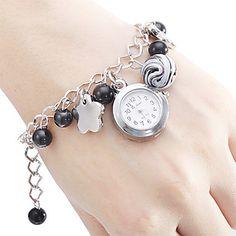 Reloj análogo de cuarzo de la aleación de la pulsera (Multi-Color) Mujer – EUR € 4.59