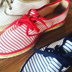 Hola Lola Espadrilles $99 from $229 #oceansclothing #lorne #melbfashion #summerfashion #stripes #comfortshoes #summerstyling #summersale #oceanssale by oceansclothing http://ift.tt/1IIGiLS