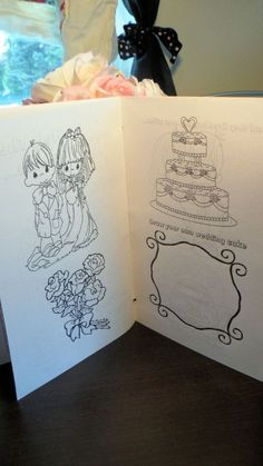 Wedding kids activity book 3