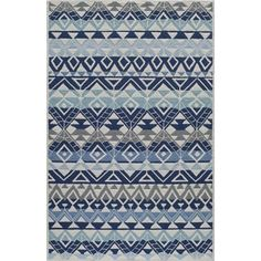 Shop for Hand-Hooked South Beach Lummus Indoor/Outdoor Polypropylene Rug (8 'x 10'). Get free shipping at Overstock.com - Your Online Home Decor Outlet Store! Get 5% in rewards with Club O! - 18715989