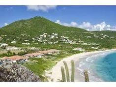 White sands beaches in St Maarten