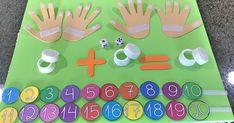 Trago para vocês mais uma dica de metodologia lúdica para trabalhar na prática a adição através de um jogo pedagógico com contagem, nume...