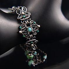 Fiamma - bracelet 1 by AMARENOstyle on deviantART