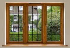 Vinyl window frames and wood window frames, replacement windows, home improvement Wooden Window Frames, Wooden Windows, Painting Trim, House Painting, Residential Windows, Window Grill, Window Replacement, House Windows, Home Additions