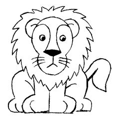 Dessin Lion Facile Recherche Google Jellabas Pinterest Lion