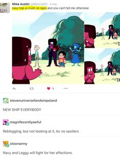 I don't ship it but I LOVE IT I honestly thought she was just embarrassed because Lapis caught them but I like this too yeah this is goo